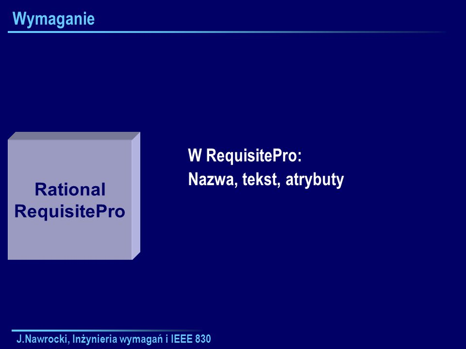 Rational RequisitePro