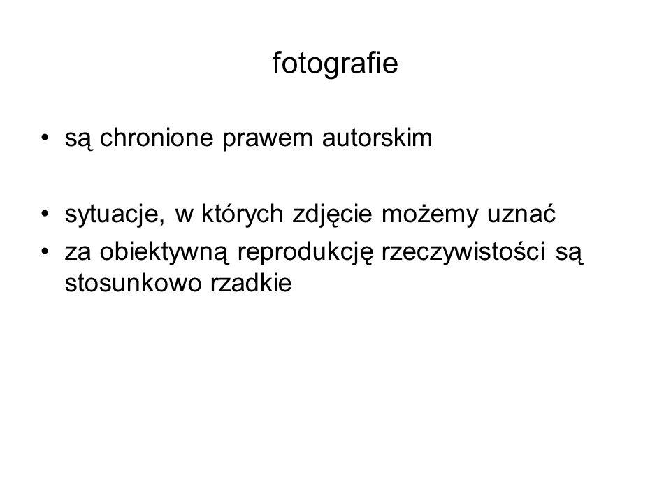 fotografie są chronione prawem autorskim