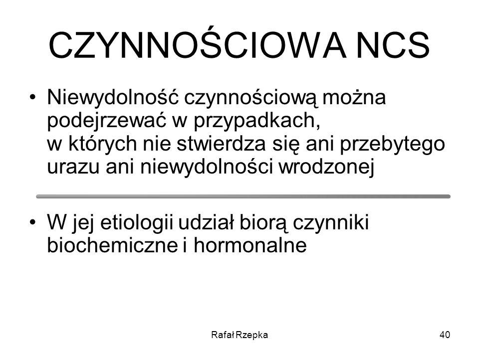 CZYNNOŚCIOWA NCS