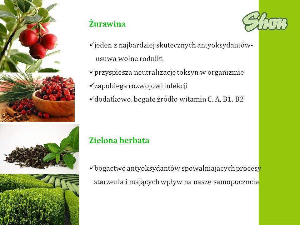 Żurawina Zielona herbata