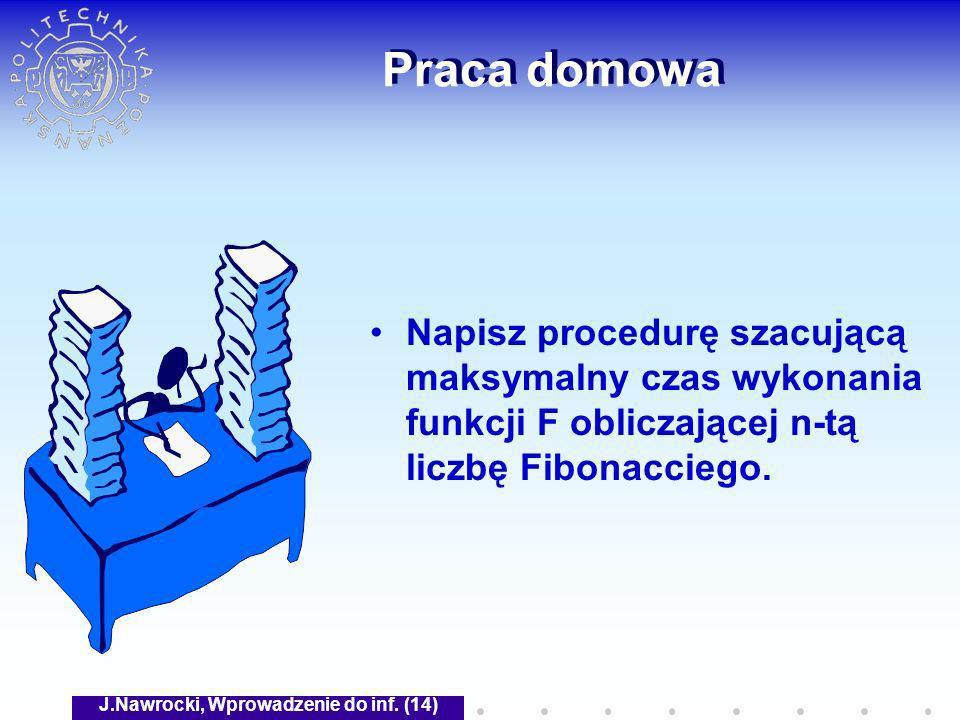 J.Nawrocki, Wprowadzenie do inf. (14)