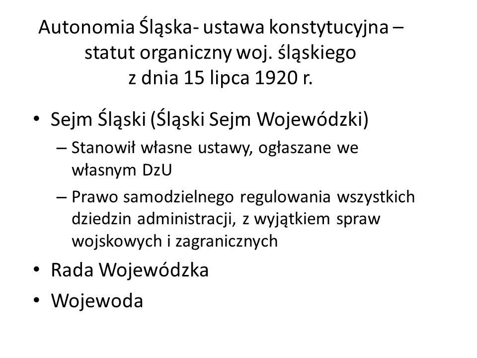 Sejm Śląski (Śląski Sejm Wojewódzki)