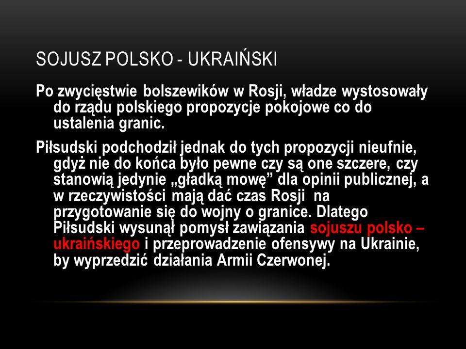 Sojusz polsko - ukraiński