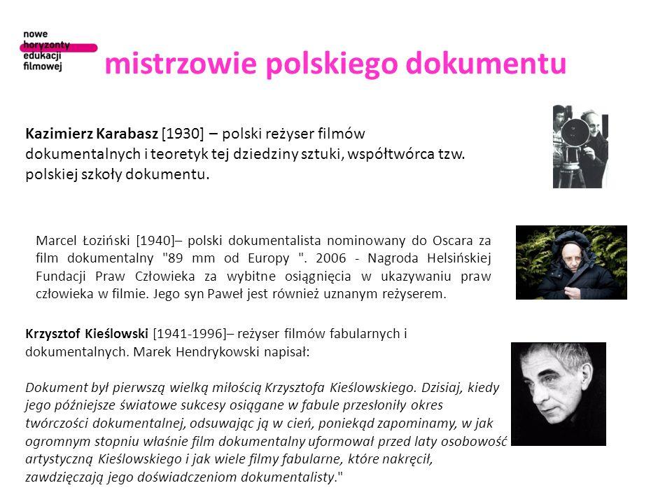 mistrzowie polskiego dokumentu
