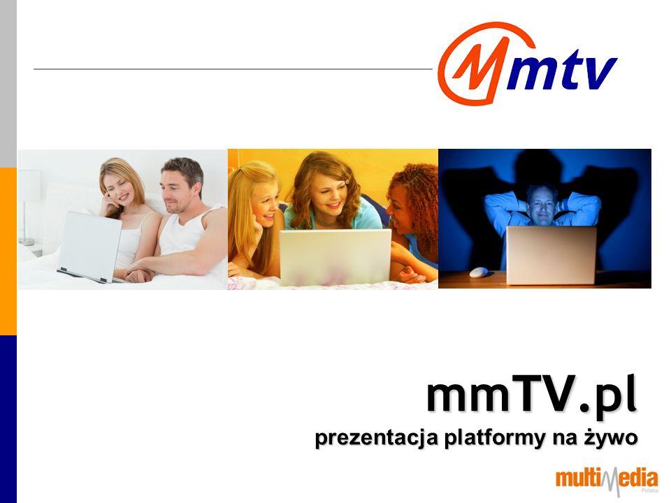 mmTV.pl prezentacja platformy na żywo