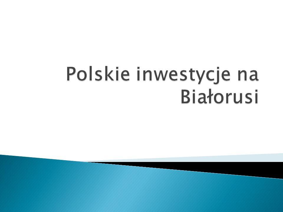 Polskie inwestycje na Białorusi
