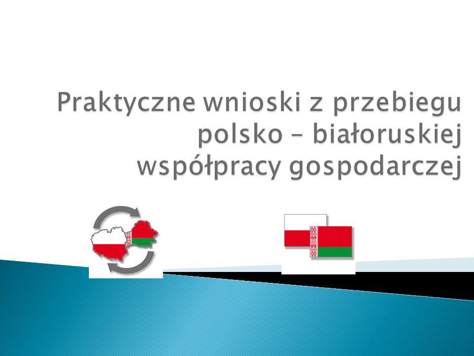 Praktyczne wnioski z przebiegu polsko – białoruskiej współpracy gospodarczej