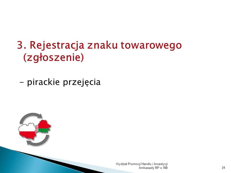 3. Rejestracja znaku towarowego (zgłoszenie)