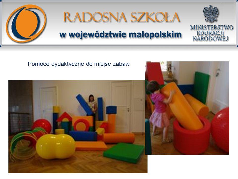 Pomoce dydaktyczne do miejsc zabaw