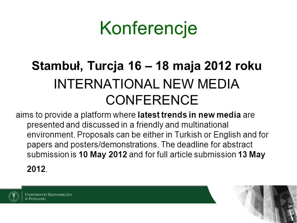 Stambuł, Turcja 16 – 18 maja 2012 roku