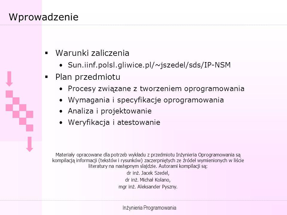 mgr inż. Aleksander Pyszny.