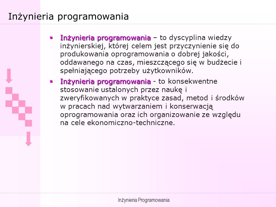 Inżynieria programowania
