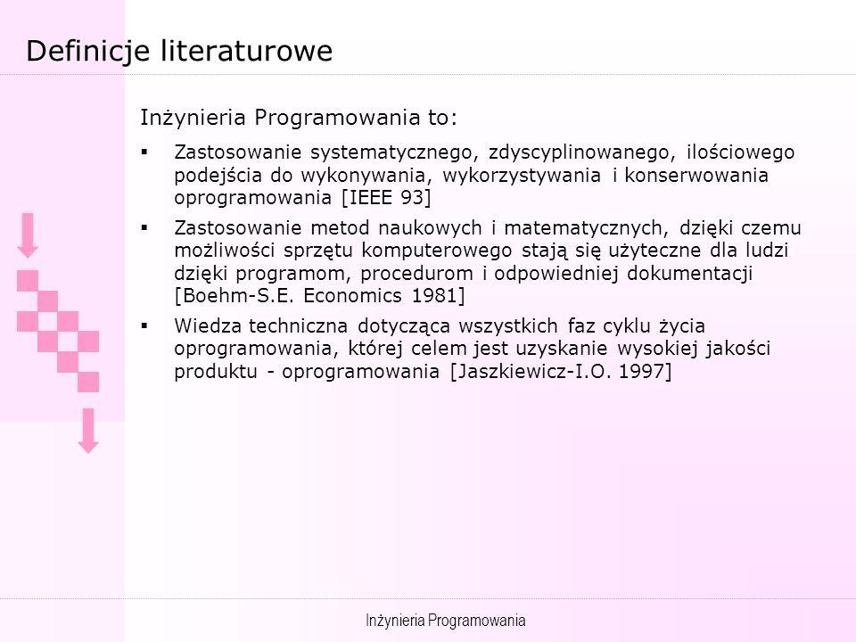 Definicje literaturowe