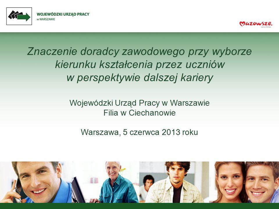 Wojewódzki Urząd Pracy w Warszawie Filia w Ciechanowie