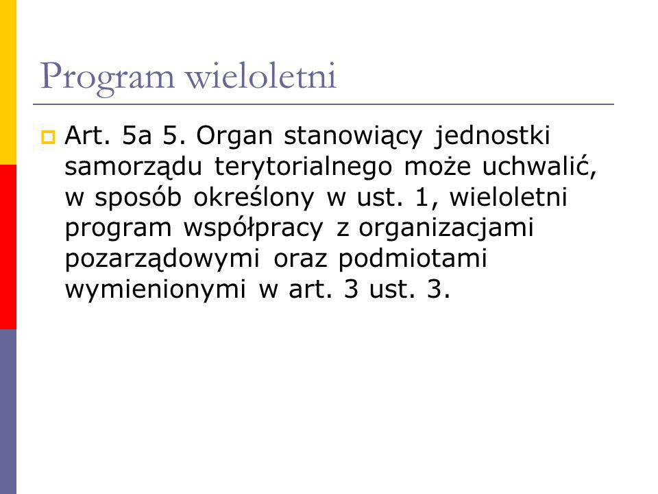 Program wieloletni