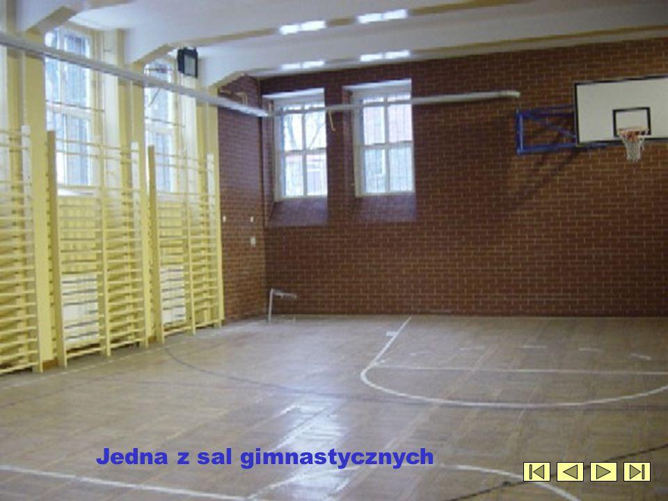 Jedna z sal gimnastycznych