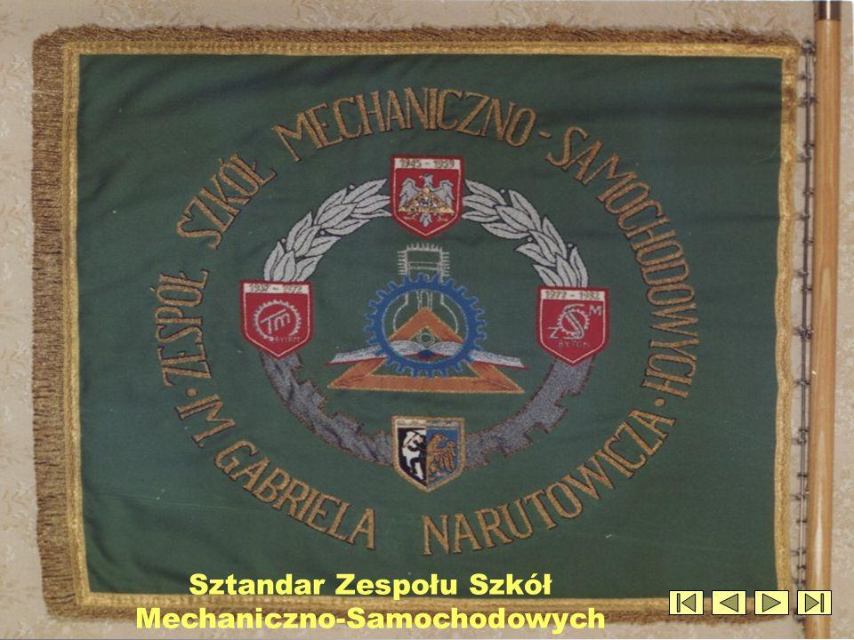 Sztandar Zespołu Szkół Mechaniczno-Samochodowych