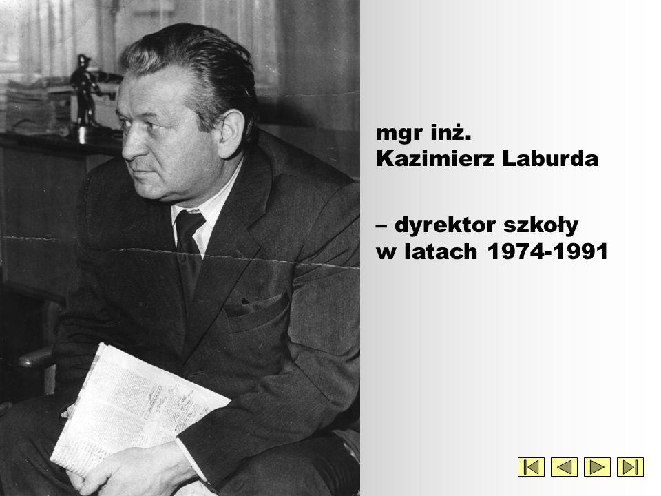 mgr inż. Kazimierz Laburda