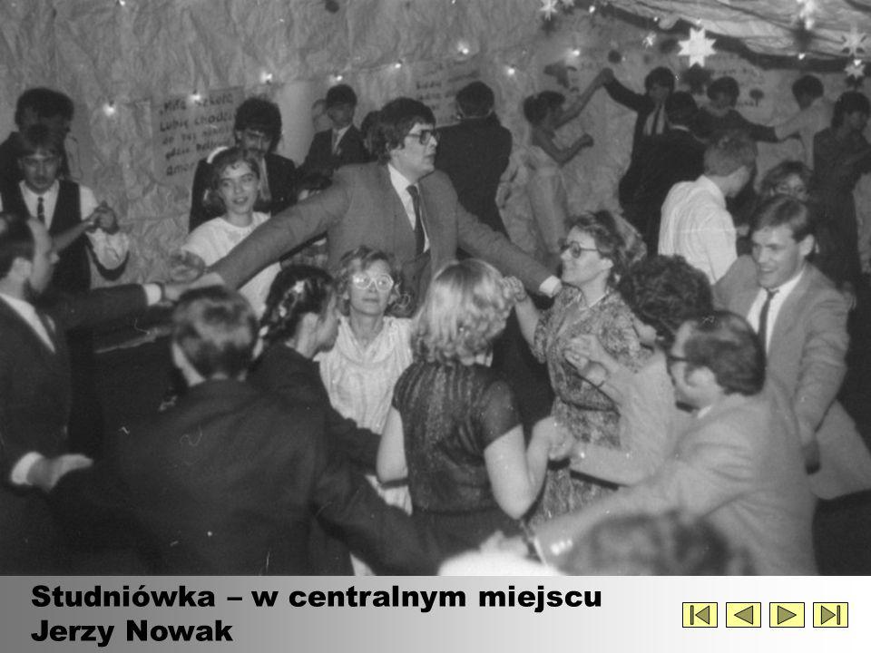 Studniówka – w centralnym miejscu Jerzy Nowak