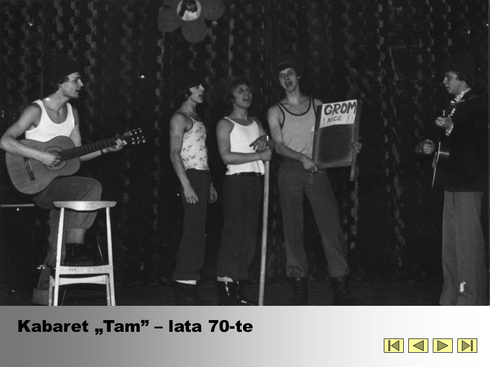 "Kabaret ""Tam – lata 70-te"