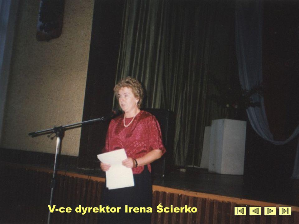 V-ce dyrektor Irena Ścierko