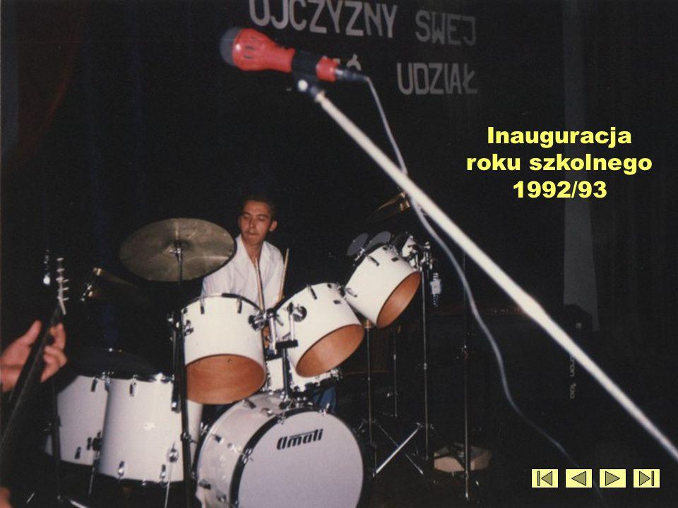 Inauguracja roku szkolnego 1992/93