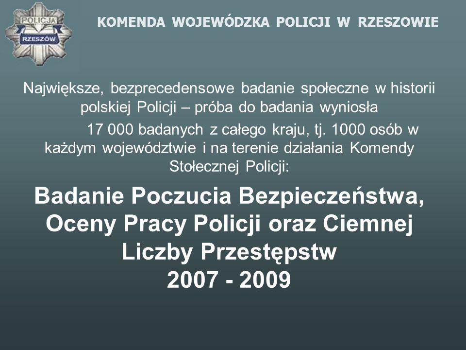 KOMENDA WOJEWÓDZKA POLICJI W RZESZOWIE