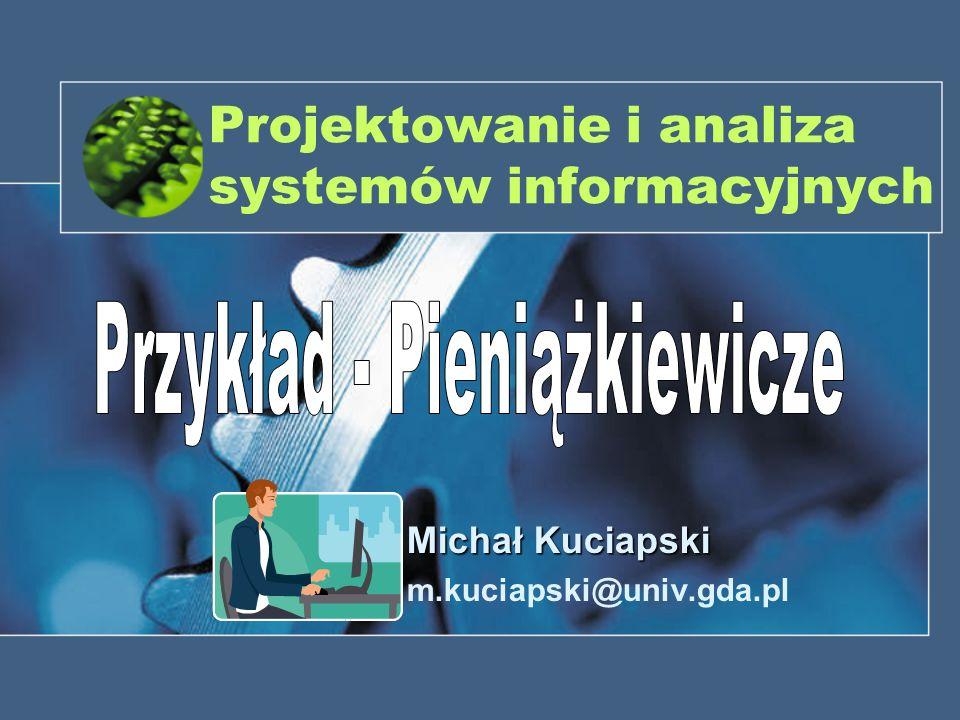 Projektowanie i analiza systemów informacyjnych