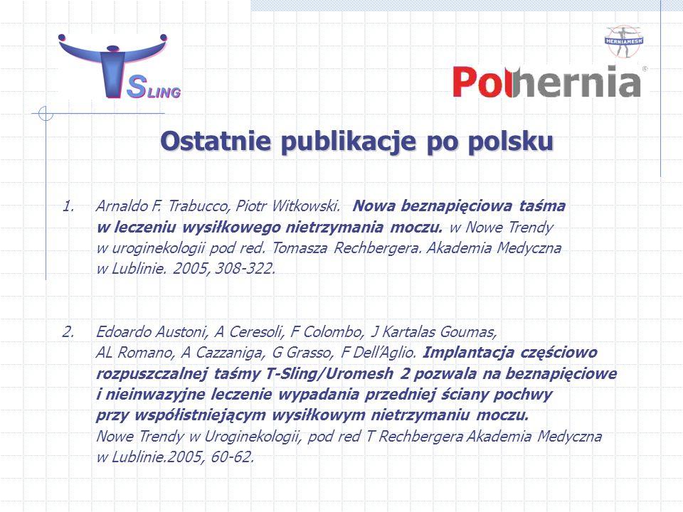Ostatnie publikacje po polsku