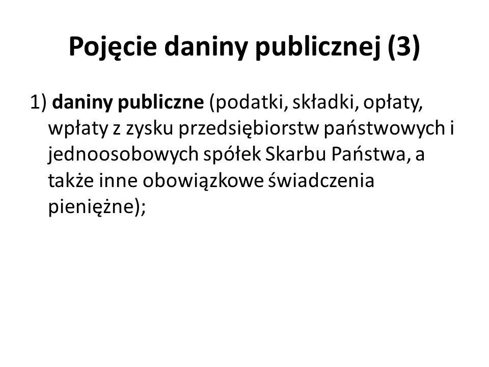 Pojęcie daniny publicznej (3)