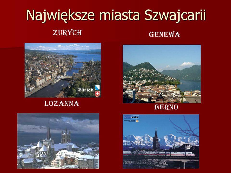 Największe miasta Szwajcarii