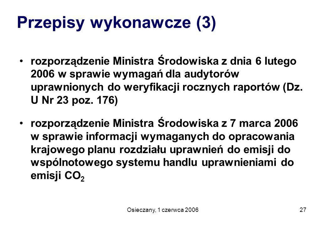 Przepisy wykonawcze (3)