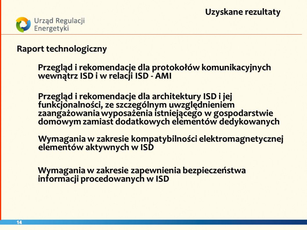 Raport technologiczny