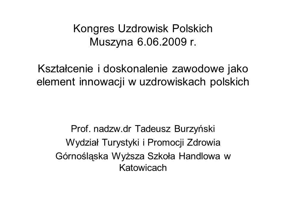 Kongres Uzdrowisk Polskich Muszyna 6. 06. 2009 r