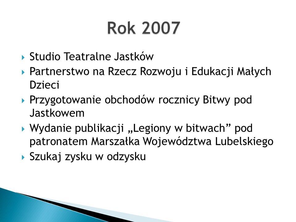 Rok 2007 Studio Teatralne Jastków