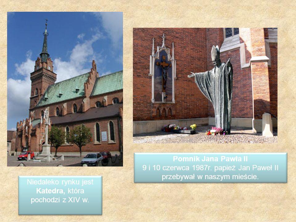 9 i 10 czerwca 1987r. papież Jan Paweł II przebywał w naszym mieście.