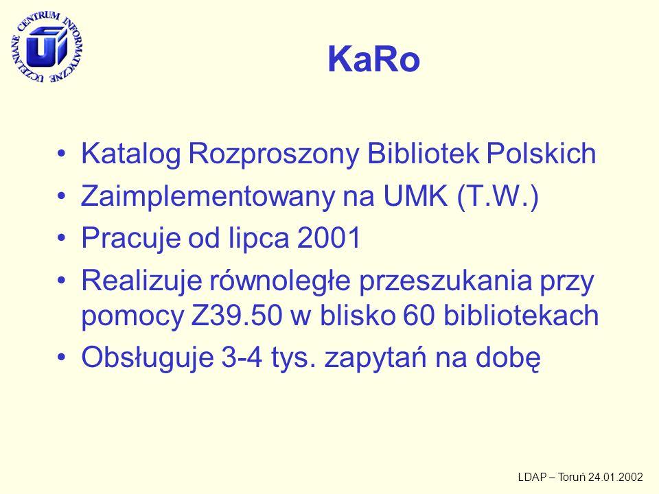 KaRo Katalog Rozproszony Bibliotek Polskich