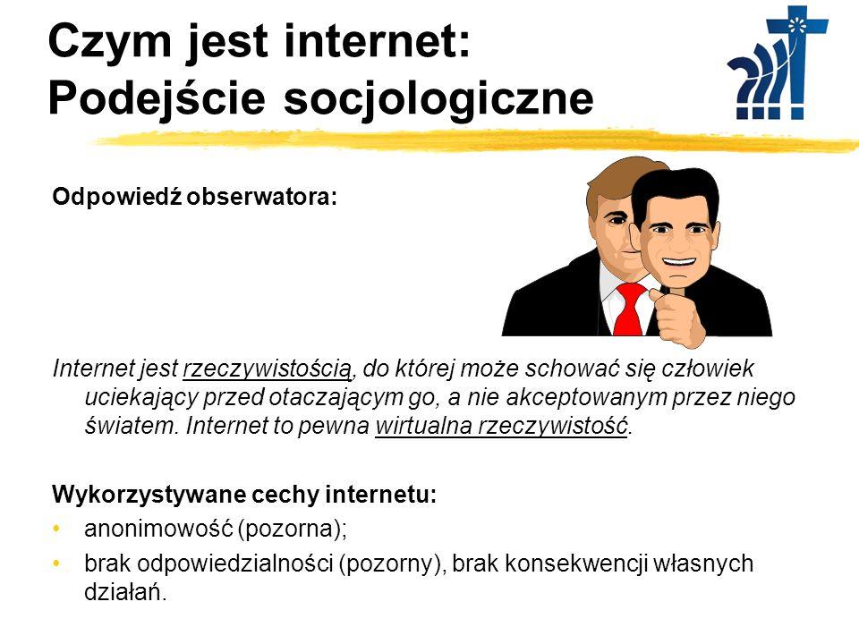 Czym jest internet: Podejście socjologiczne