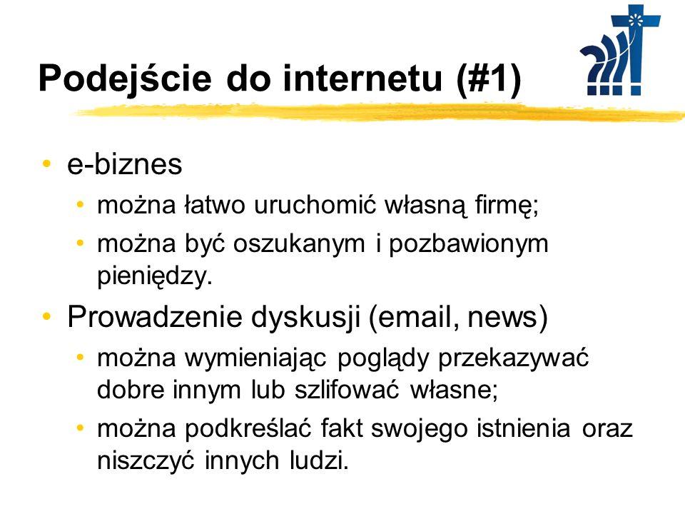Podejście do internetu (#1)