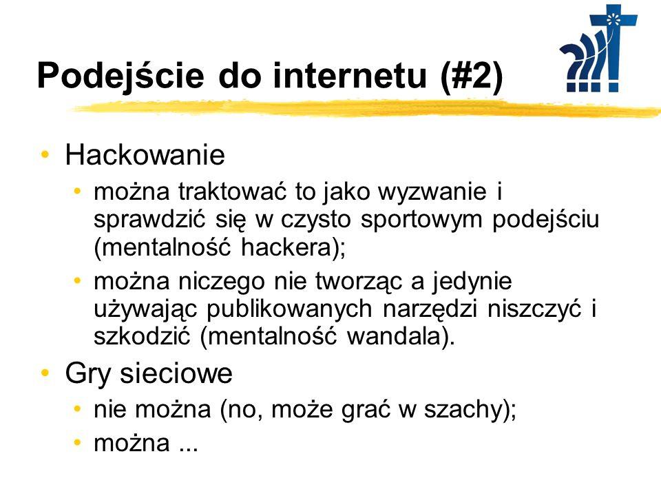 Podejście do internetu (#2)