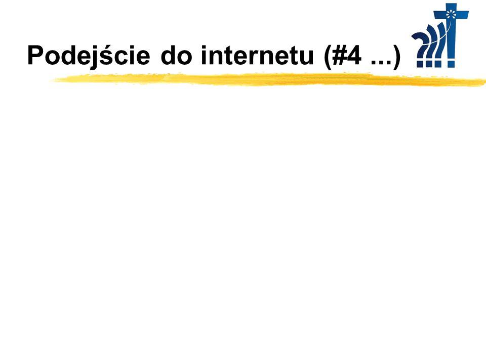 Podejście do internetu (#4 ...)