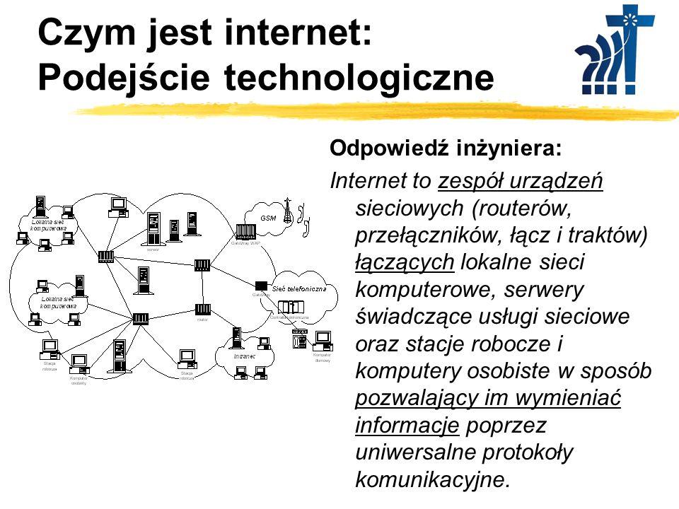 Czym jest internet: Podejście technologiczne