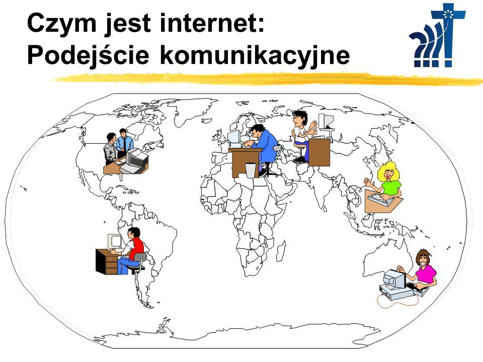 Czym jest internet: Podejście komunikacyjne