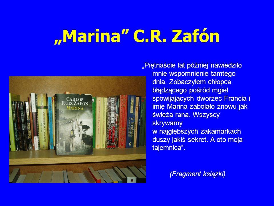 """""""Marina C.R. Zafón"""