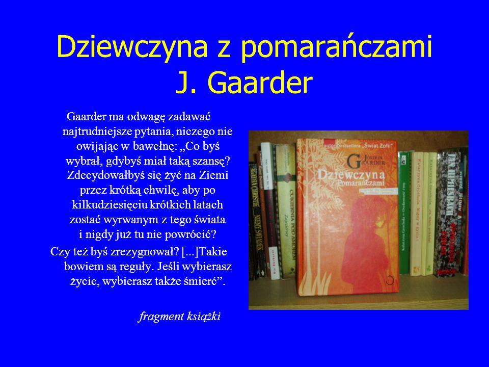 Dziewczyna z pomarańczami J. Gaarder