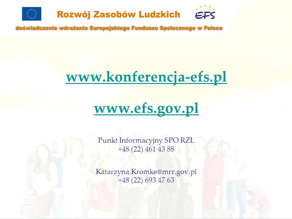 Punkt Informacyjny SPO RZL
