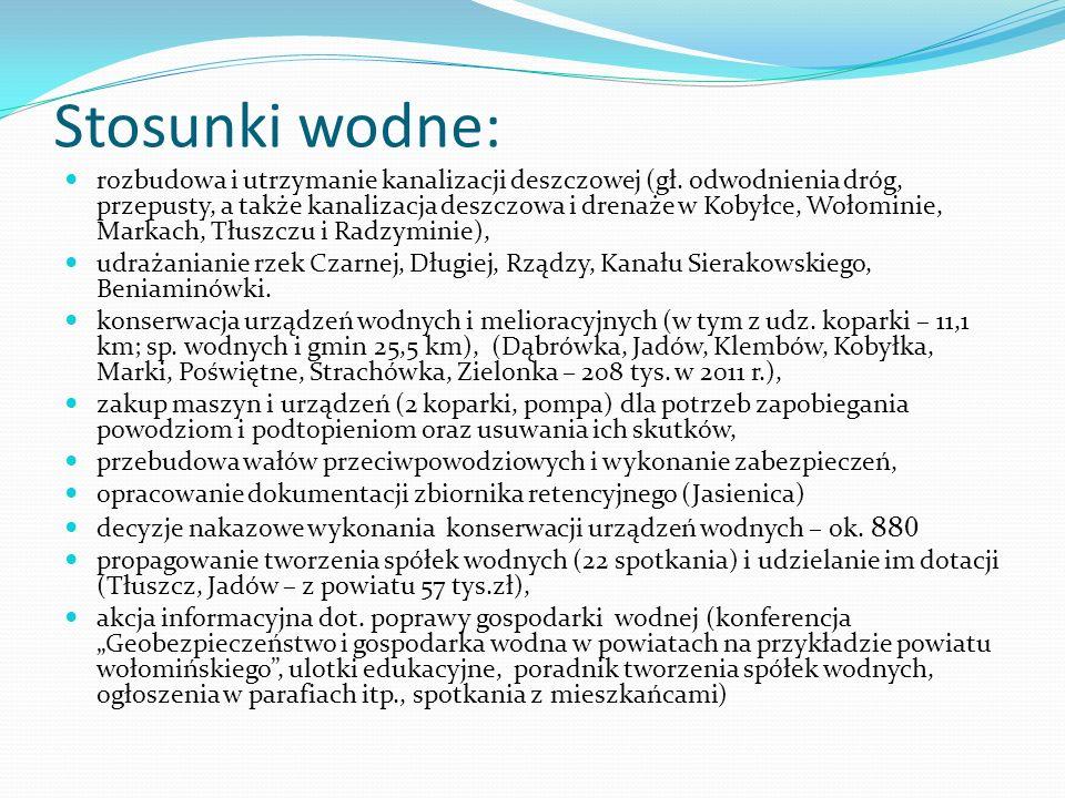 Stosunki wodne: