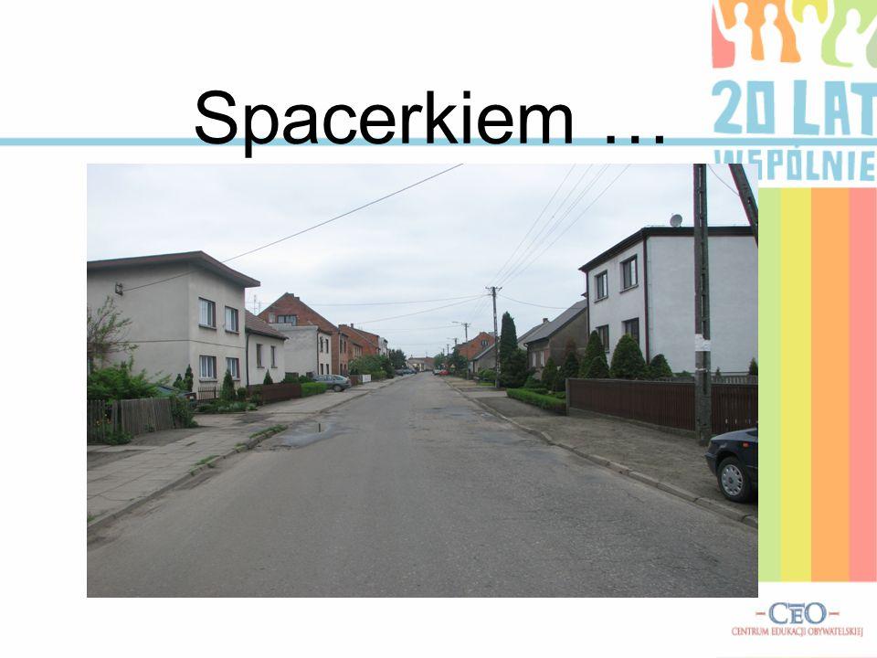 Spacerkiem … .
