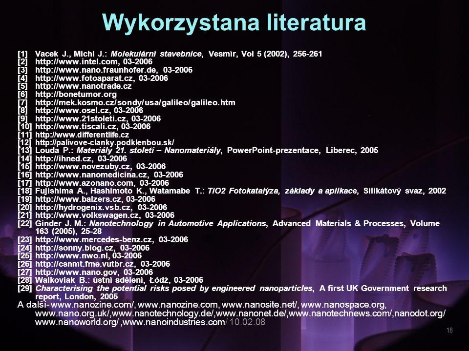Wykorzystana literatura
