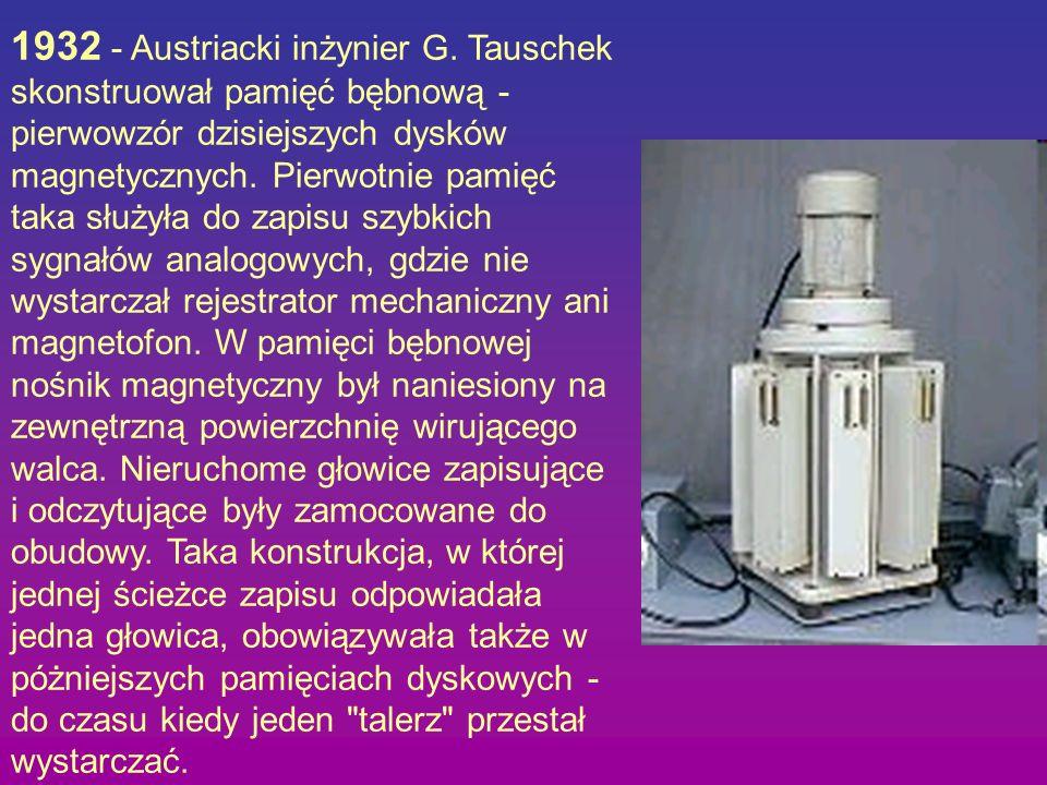 1932 - Austriacki inżynier G